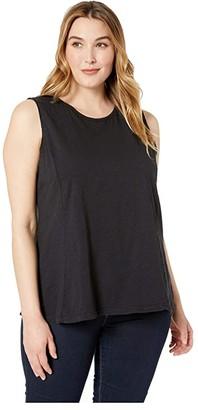 Fresh Produce Plus Size Chloe Tank (Black) Women's Sleeveless