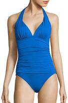 Lauren Ralph Lauren Beach Club Solids Mio Halter Swimsuit