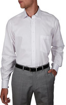 Geoffrey Beene Henri Micro Structure Stretch Collar Regular Fit Shirt