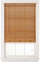 JCP HOME JCPenney HomeTM 1 Natural Basswood Horizontal Blinds