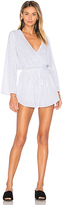 Faithfull The Brand Sunkissed Playsuit in White. - size L (also in XS)