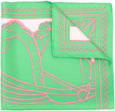 Tory Burch abstract print scarf