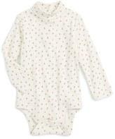 Infant Girl's Mini Boden Turtleneck Bodysuit