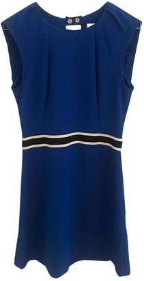 Sandro Blue Polyester Dresses