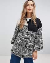 Lavand Paneled Jacket