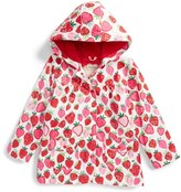 Hatley Girl's Strawberry Sundae Hooded Raincoat