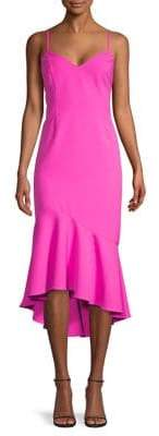 Bardot Lisandra Ruffled Midi Dress