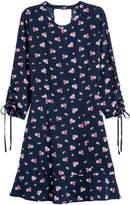 H&M Crepe dress - Blue
