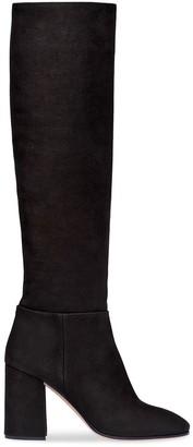 Miu Miu Washed Denim Boots