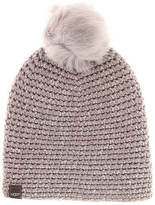 UGG Women's Crochet Beanie with Toscana Pom