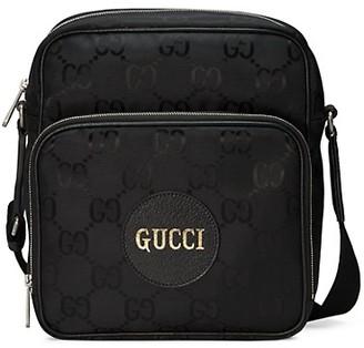 Gucci Eco GG Nylon Medium Shoulder Bag