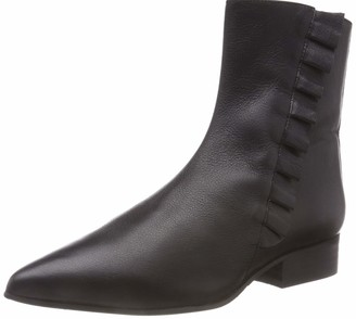 Selected Girl's SLFALEXIA Leather Frills Boot B Ankle