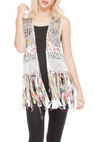 Adore Colorful Fringe Vest