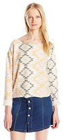 Billabong Juniors Beach Waves French Terry Pullover with Tulip Back