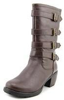 Khombu Jean Round Toe Synthetic Boot.