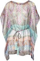 Matthew Williamson Pink Andean Artisan Silk Kaftan