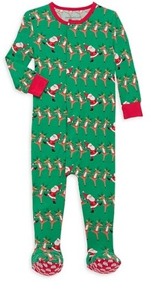Magnetic Me Baby's Holly Folly Jolly Footie