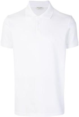 Saint Laurent short sleeve polo shirt