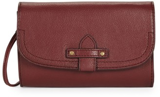 Frye Olivia Leather Wallet Crossbody Bag