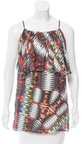 Alexis Sleeveless Printed Top