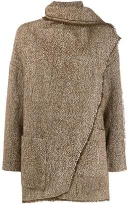 Etoile Isabel Marant Draped Detail Coat