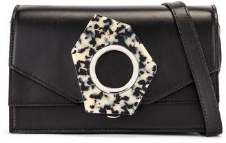 Ganni Leather Bag in Black | FWRD