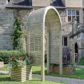 Grange Fencing Contemporary Garden Arch