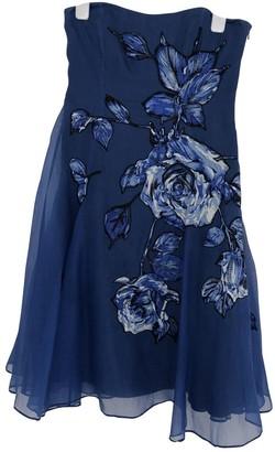 Coast Blue Silk Dress for Women