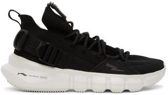 Neil Barrett Black Li-Ning Edition Bolt Essence 2.3 Sneakers