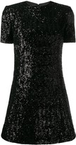 Saint Laurent sequinned dress