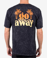 Neff Men's Go Away Marbled Graphic T-Shirt