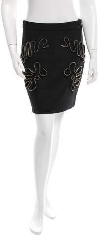 Stella McCartney Embellished Mini Skirt w/ Tags