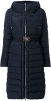 Moncler Iman padded coat - women - Polyamide/Polyester/Feather/Goose Down - 1