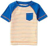 Class Club Adventure Wear by Little Boys 2T-6 Striped Raglan Short-Sleeve Pocket Tee