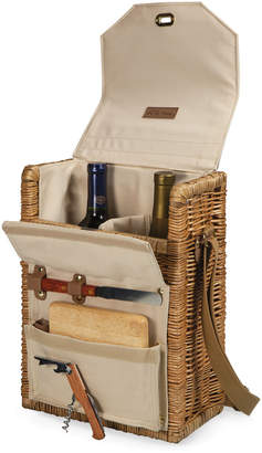 Picnic Time 4Pc Corsica Wine And Cheese Basket