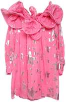 Little Marc Jacobs Stars Silk Georgette Party Dress