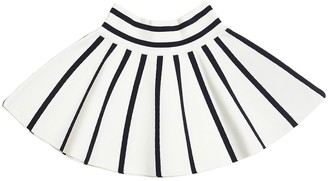 Milly Striped Cotton Blend Skirt