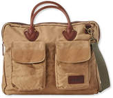 L.L. Bean Heritage Waxed-Canvas Briefcase
