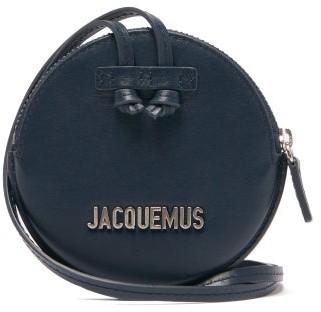 Jacquemus Pitchou Mini Leather Cross-body Bag - Womens - Navy