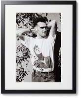 Sonic Editions Framed Morrissey Print, 16 X 20 - Black