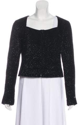 Chanel 2016 Metallic Tweed Jacket