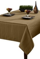 Benson Mills Gourmet Spillproof Fabric Tablecloth, Linen, 60-inch by 84-inch