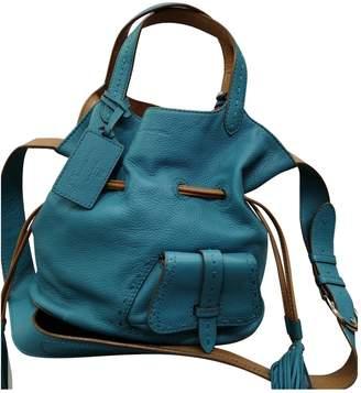 Lancel 1er Flirt Blue Leather Handbags