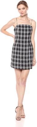 C/Meo Women's Solace Spaghetti Strap Sheath Mini Dress