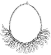 RED Valentino Embellished Silver-Tone Necklace