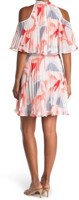 Lucy Paris Penelope Sleeveless Popover Ruffle Dress