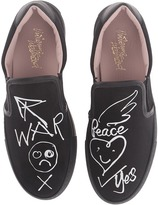 Vivienne Westwood Slip-On Trainer Women's Slip on Shoes