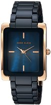 Anne Klein Women's Quartz Metal and Ceramic Dress Watch, Color:Beige (Model: AK/2952TNGB)