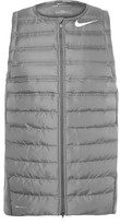 Nike Golf - Areoloft Quilted Shell And Stretch-knit Golf Vest