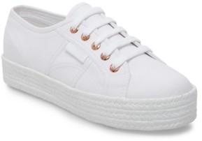 Superga Women's 2730 Cotropew Platform Espadrille Sneakers Women's Shoes